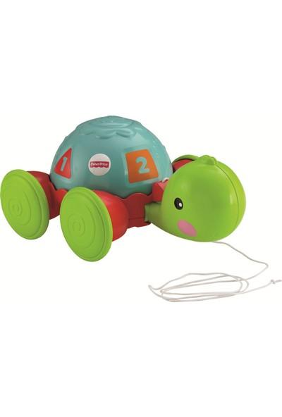 Fisher-Price Çek-Çek Kaplumbağa - Yürümeye Teşvik Eden Çekmeli Oyuncak Y8652