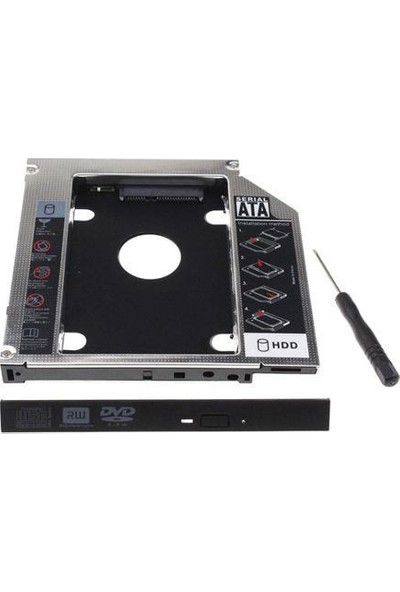 "Codegen Codmax 12.7mm Notebook Slim 2.5"" Sata HDD ve SSD Disk Kutusu (CDG-HDC-127)"