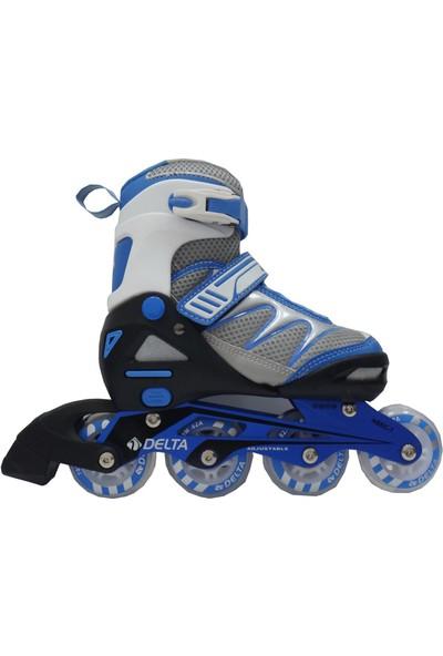 Delta Mega 436 Inline Skate Silikon Teker Alüminyum Paten