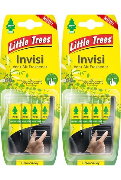 Little Trees Invisi Klima Kokusu Yeşil Vadi 2'li Paket