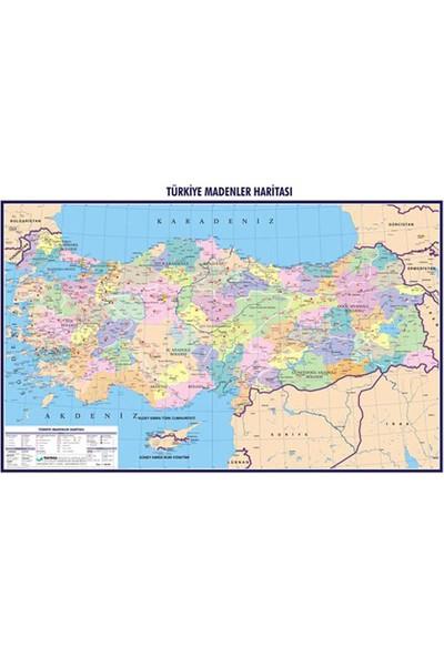 Gürbüz Türkiye Endüstri ve Madenler Haritası 70x100 cm 21133