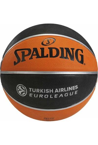 Spalding Basketbol Topu TF-150 Euro/Turk N:7 Rbr Bb (73-985Z)