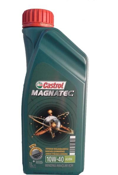 Castrol Magnatec 10W/40 Benzin ve LpgMotor Yağı 1 Lt ( Üretim Yılı: 2019)