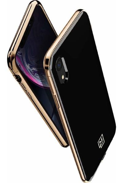 Spigen Apple iPhone XR Kılıf La Manon étui Gold Black - 064CS25311