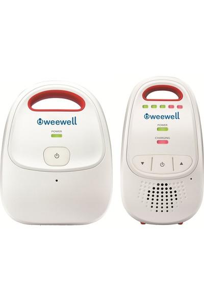 Weewell WMA370 Weewell Dijital Bebek Telsizi - 300 m - Şarjlı - Ses göstergesi