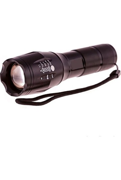 CSI - T6555 Xml T6 Cree Led Şarjlı 1000 Lumens El Feneri