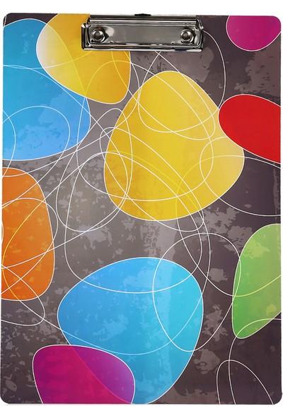 Keskin Color Ahşap Sekreter Notluğu-Çizgiler