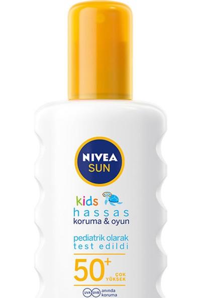 Nivea Sun Çocuk Hassas Güneş Spreyi Gkf50+ 200 ml