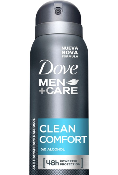 Dove Men Clean Comfort Erkek Sprey Deodorant 150 ml