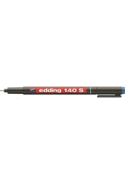 Edding Asetat Kalemi E-140S Mavi Ed14003