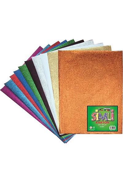 Nova Color Simli Karton (20*30) 10 Set Nc-275