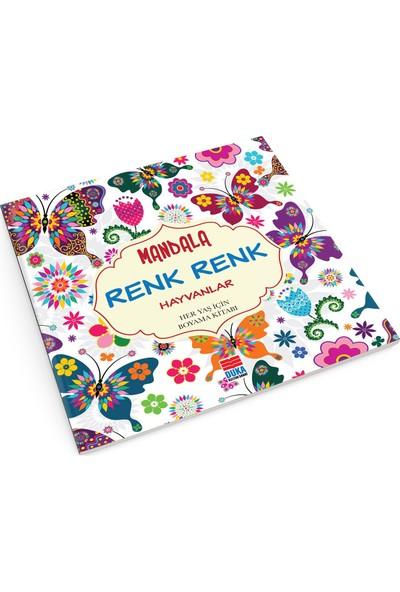 Evrensel Mandala Renk Renk Hayvanlar-Kolektif