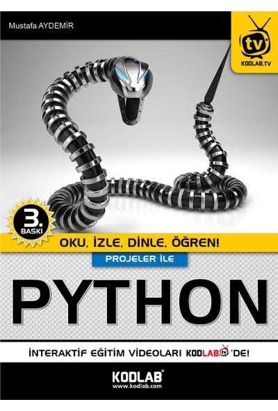 Projeler İle Python - Mustafa Aydemir