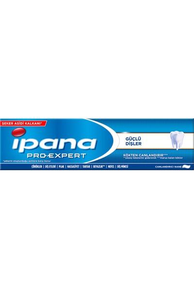 Ipana Pro-Expert 100 ml Güçlü Dişler Canlandırıcı Nane Diş Macunu