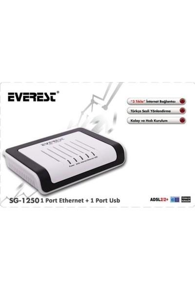 Everest SG-1250 Ethernet + Usb Combo Adsl Modem