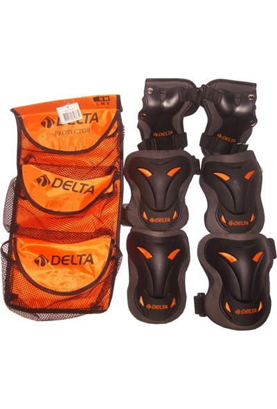 Delta Protector Paten Kaykay Scooter Bisiklet Koruyucu Set Takım