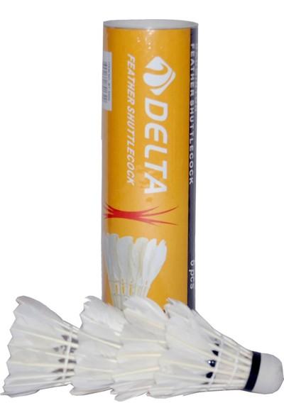 Delta Kaz Tüyü 6 Adet Badminton Topu - BT 5000