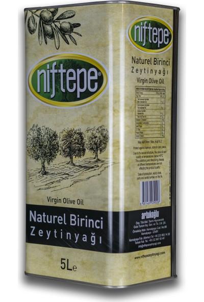 Niftepe Naturel Birinci Soğuk Sıkım Zeytinyağlarıı 5 lt