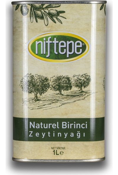 Niftepe Naturel Birinci Soğuk Sıkım Zeytinyağları 1 lt