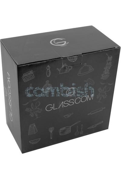 Glasscom Cam Kek Fanusu Gold
