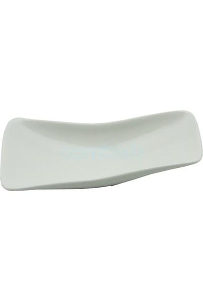 Tekbir 6'lı Porselen Eğik Kayık Tabak