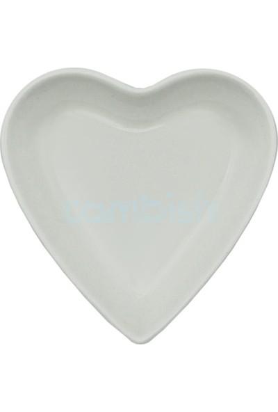 Tekbir 6'lı Porselen Kalp Kase
