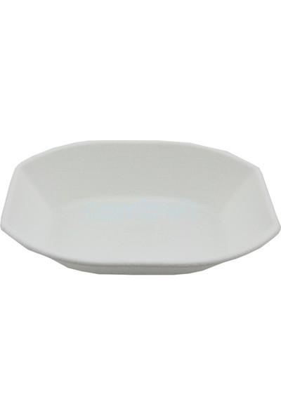 Zücci Plastik Ekmek Sepeti - Beyaz