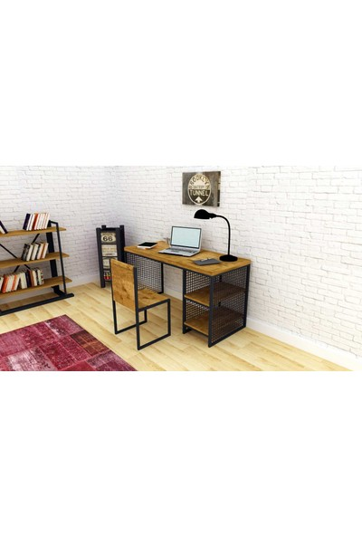 Archi Ahşap Atölyesi Worley Grid White Çalışma Masası 180 cm