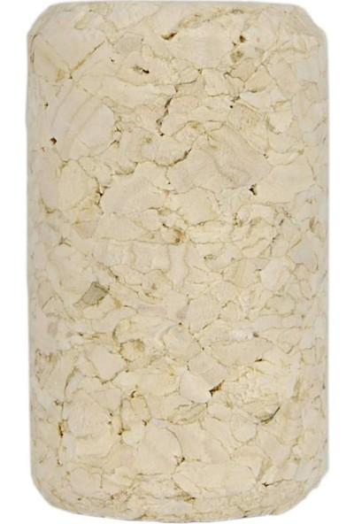 Vinoferm Doğal Şarap Şişesi Mantarı (Aglomere) 38 mm - 100 Adet