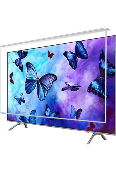 Etiasglass Samsung 50RU7400 Tv Ekran Koruyucu / Ekran Koruma Camı