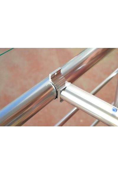 Natural Alüminyum Balkon Çamaşırlık Kurutmalık Balkon Çamaşır Askısı