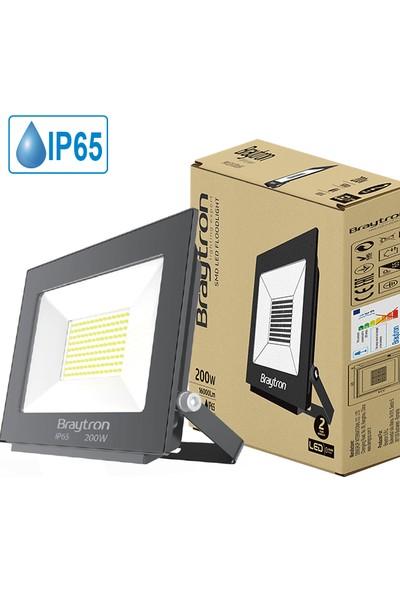 Braytron 200 W Smd LED Projektör Beyaz Işık BT60-09632