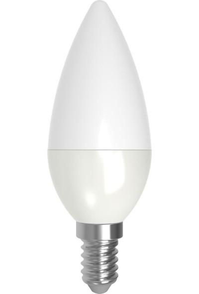 Lamptime 5,5 W LED Mum Ampul Dim Edilebilir E14 3000K Gunışığı Işık 302305
