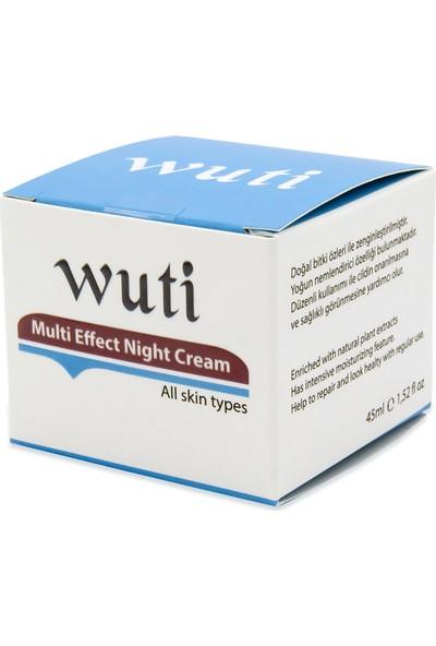 Wuti Multi Effect Night Cream (Yoğun Etkili Gece Kremi)