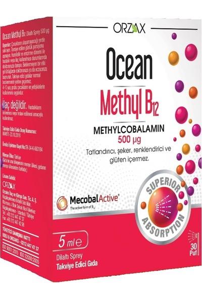 Ocean Methyl B12 500 mcg Sprey 5 ml