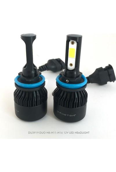 Photon Duo H8-H11-H16 12V LED Headlight