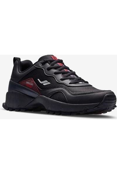 Lescon Trail Tempo Siyah Erkek Spor Ayakkabı