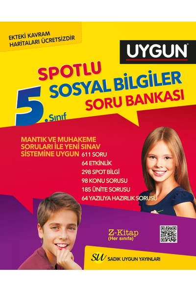Sadık Uygun 5. Sınıf Sosyal Soru Bankası