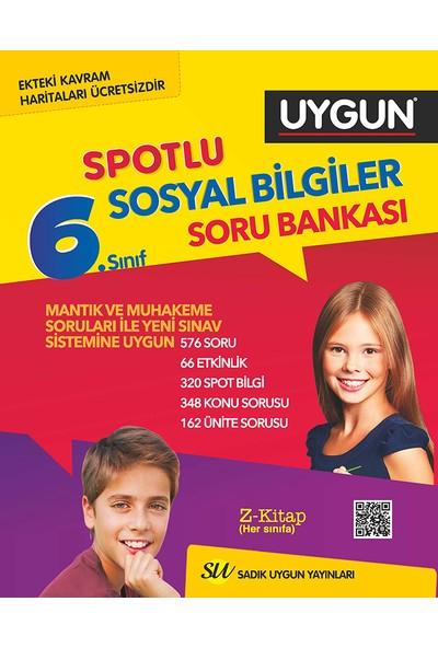 Sadık Uygun Yayınları 6. Sınıf Sosyal Bilgiler Soru Bankası