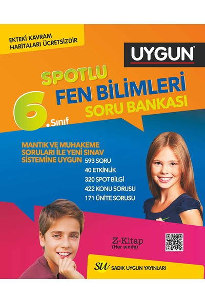 Sadık Uygun Yayınları Fen Bilimleri Soru Bankası 6. Sınıf
