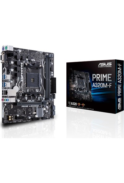 Asus Prime A320M-F AMD A320 2133MHz DDR4 Soket AM4 mATX Anakart