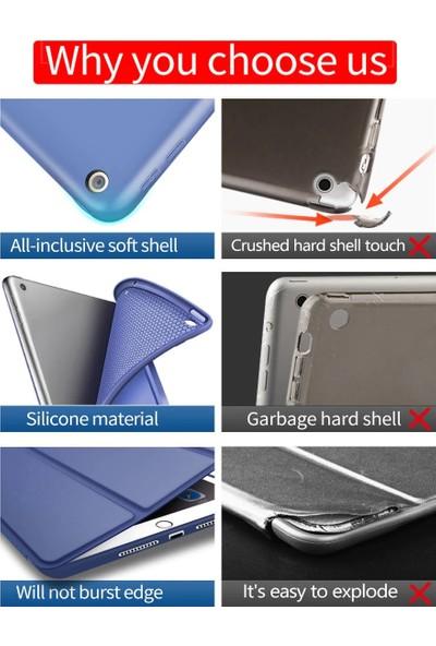 Fujimax ipad 5./ 6. Nesil Arka Darbe Koruyuculu Yumuşak Silikon Smart Case Siyah