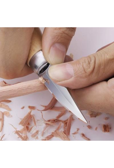 Titi 1161 Ahşap Kaşık Kuksa Oyma Bıçağı Seti 2'li