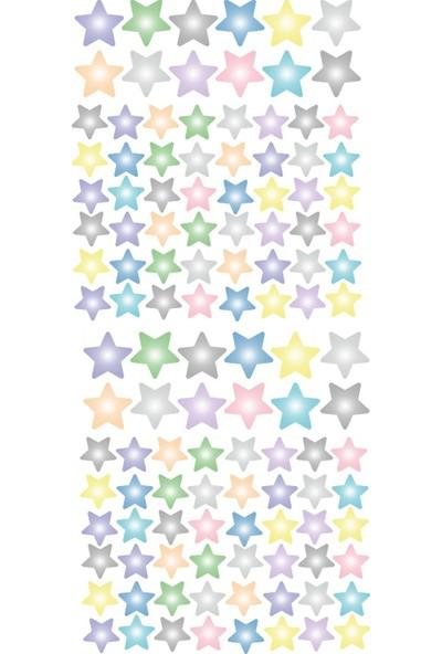 Dekor Loft Pastel Yıldızlar Çocuk Odası Duvar Sticker CS-805
