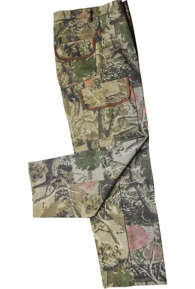 Elf Mutli Cep Su Geçirmez Ağaç Desenli Avcı Pantolunu 8