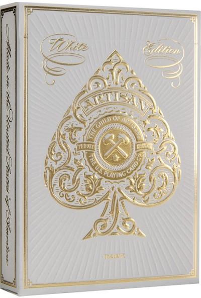 Theory 11 Artisan White Oyun Kartı Destesi Premium Oyun Kağıdı