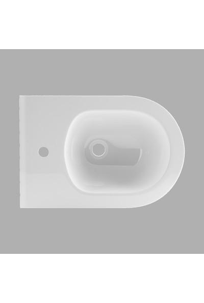Lucco Avva 53 cm Rim Art Asma Bide Beyaz