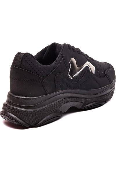 Mille Mona Günlük Giyim Kadın Ayakkabı Siyah