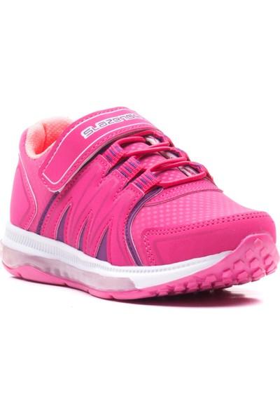 Slazenger Evrım Spor Çocuk Ayakkabı Fuşya