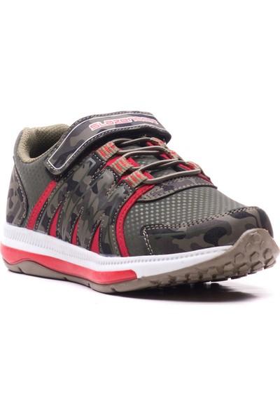 Slazenger Evrım Spor Çocuk Ayakkabı Haki